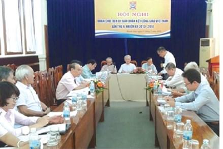 Phát huy vai trò của Ủy ban Đoàn kết Công giáo Việt Nam trong giai đoạn mới