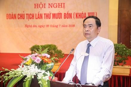 Chủ tịch Trần Thanh Mẫn: Nên tổ chức chấm xác suất bài thi THPT trên cả nước