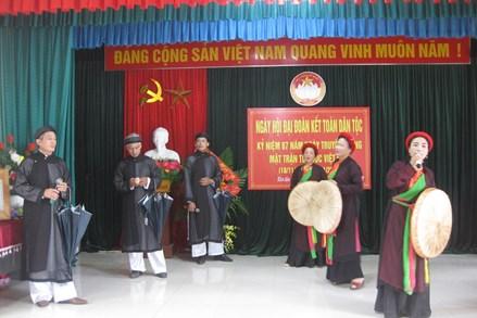 Nét đẹp ở một làng văn hóa của tỉnh Thái Nguyên