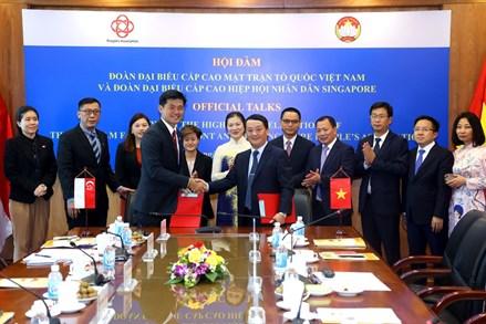 Thúc đẩy mối quan hệ đối tác chiến lược Việt Nam - Singapore