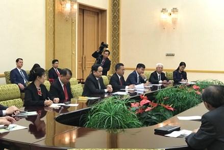 Đoàn đại biểu Đảng và Nhà nước Việt Nam thăm Triều Tiên