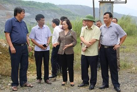 Đảm bảo môi trường sống của người dân tại vùng khai thác tài nguyên