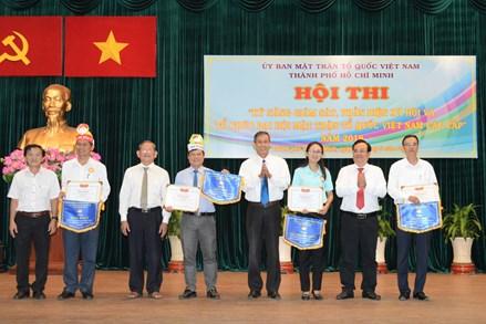 """Hội thi """"Kỹ năng tổ chức giám sát, phản biện xã hội và Đại hội MTTQ Việt Nam các cấp"""""""