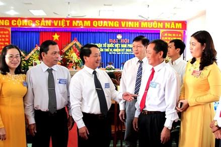 Đại hội điểm Mặt trận Tổ quốc cấp xã đầu tiên của tỉnh An Giang