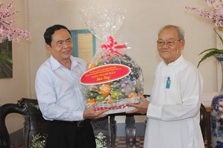 Thư chúc mừng nhân dịp Đại lễ kỷ niệm 94 năm Khai đạo Cao Đài