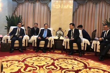 Chủ tịch Trần Thanh Mẫn thăm và làm việc với Chính hiệp TP. Bắc Kinh