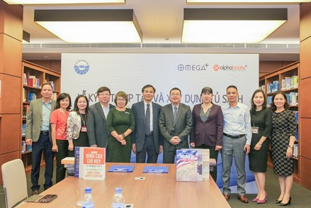 Ký kết hợp tác xây dựng tủ sách Thư viện Quốc hội Việt Nam