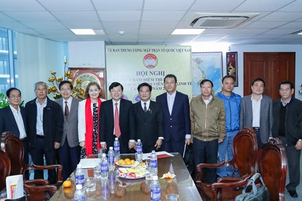 Hội nghị Tổng kết Cụm thi đua các tổ chức thành viên khối kinh tế của Mặt trận