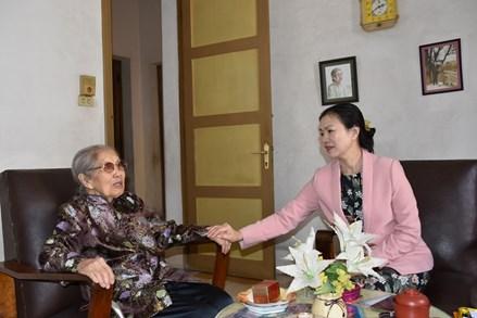 Mặt trận Trung ương chúc Tết các vị nguyên Ủy viên UBTƯ MTTQ Việt Nam
