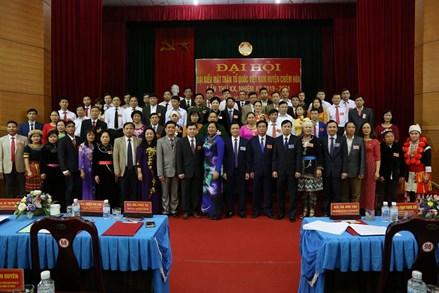 Đại hội MTTQ Việt Nam huyện Chiêm Hóa lần thứ XX, nhiệm kỳ 2019 - 2024