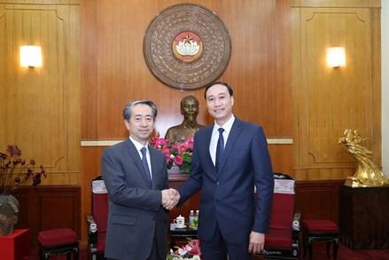 Thiết thực hướng tới kỷ niệm 70 năm thiết lập quan hệ ngoại giao Việt Nam - Trung Quốc