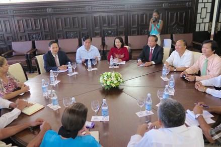 Đoàn MTTQ Việt Nam làm việc với Ban Đối ngoại Quốc hội Cuba