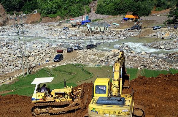 Khẩn trương khắc phục hậu quả lũ quét tại Mường La, Sơn La