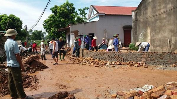 Lạng Giang,Bắc Giang: Phong trào hiến đất trong xây dựng nông thôn mới ở xã Hương Lạc