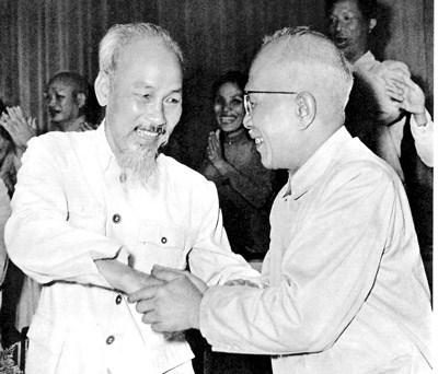 Bác Hồ và Bác Tôn: Hình ảnh  cao đẹp của tình đoàn kết Nam - Bắc một nhà, biểu tượng thiêng liêng của khối đại đoàn kết toàn dân tộc Việt Nam