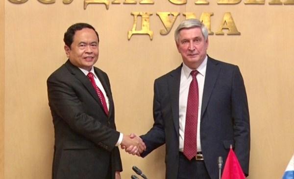 Củng cố, tăng cường quan hệ Việt Nam và Liên bang Nga