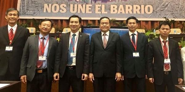 Chủ tịch Trần Thanh Mẫn tham dự Đại hội toàn quốc lần thứ IX của Ủy ban Bảo vệ Cách mạng Cuba