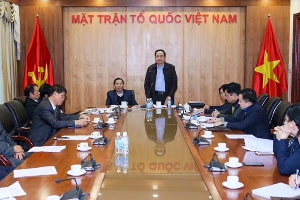 MTTQ Việt Nam trong cuộc đấu tranh phòng, chống tham nhũng