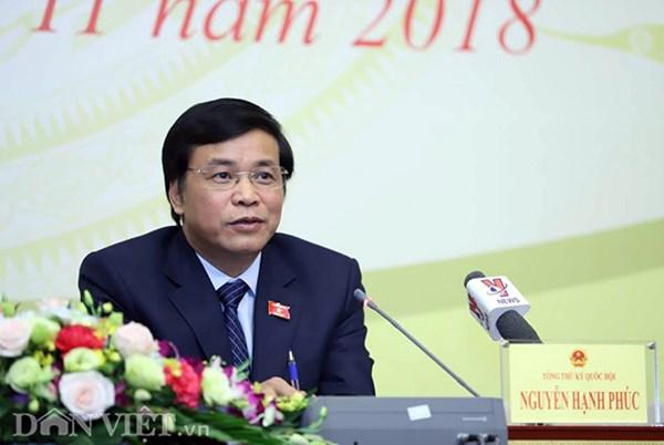 Tổng Thư ký Quốc hội nói gì về phát biểu của ĐB Lưu Bình Nhưỡng?