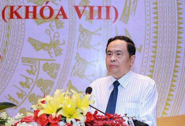 Khai mạc Hội nghị Đoàn Chủ tịch Ủy ban Trung ương MTTQ Việt Nam lần thứ 15 (khóa VIII)