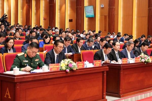 Khai mạc Hội nghị toàn quốc tổng kết công tác tuyên giáo năm 2020, triển khai nhiệm vụ năm 2021