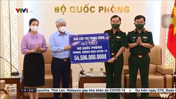 MTTQ Việt Nam phân bổ tiền hỗ trợ phòng chống dịch Covid-19