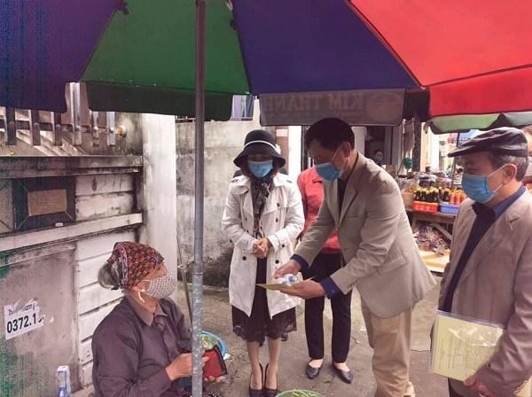 Ủy ban MTTQ Việt Nam quận Đồ Sơn: Đẩy mạnh công tác tuyên truyền, phòng chống dịch COVID – 19