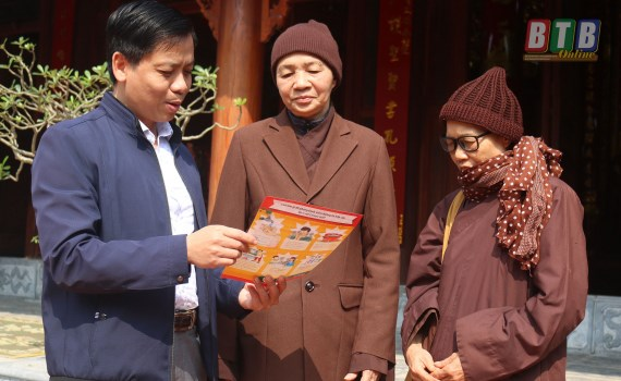 MTTQ các cấp tỉnh Thái Bình chung tay phòng, chống dịch Covid-19