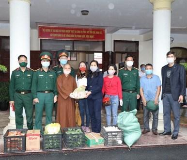 Ủy ban MTTQ tỉnh Ninh Bình tiếp nhận ủng hộ phòng, chống dịch Covid-19
