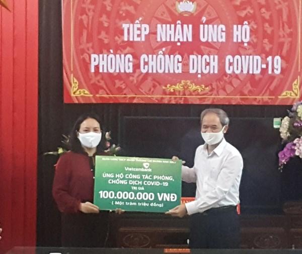 Nam Định: Gần 700 triệu đồng ủng hộ phòng, chống dịch Covid-19