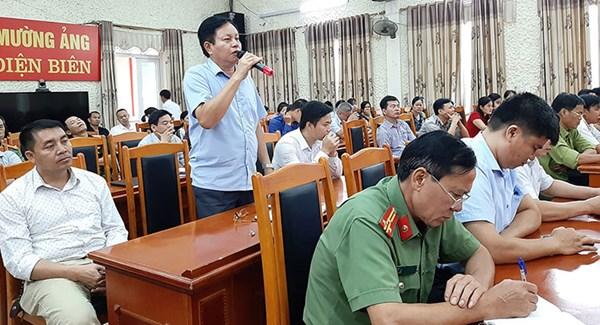 MTTQ huyện Mường Ảng tham gia giải quyết ý kiến, kiến nghị của nhân dân