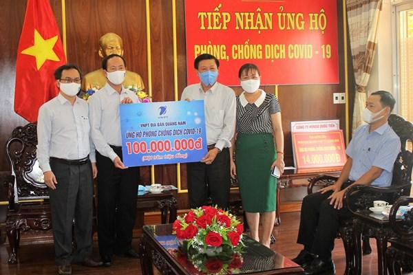 Mặt trận Tổ quốc tỉnh Quảng Nam tiếp nhận trên 11 tỷ đồng ủng hộ phòng, chống dịch Covid-19
