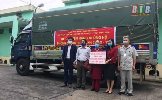 Thái Bình: Hơn 20 tỷ đồng ủng hộ công tác phòng, chống dịch Covid - 19