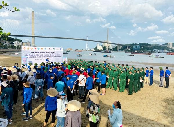 Quảng Ninh:Phát động hưởng ứng Ngày môi trường Thế giới, Ngày đại dương thế giới và Tuần lễ Biển và Hải đảo Việt Nam năm 2020