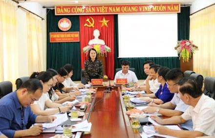Kiểm tra việc giám sát thực hiện các chính sách hỗ trợ người dân gặp khó khăn do đại dịch Covid-19 tại tỉnh Ninh Bình