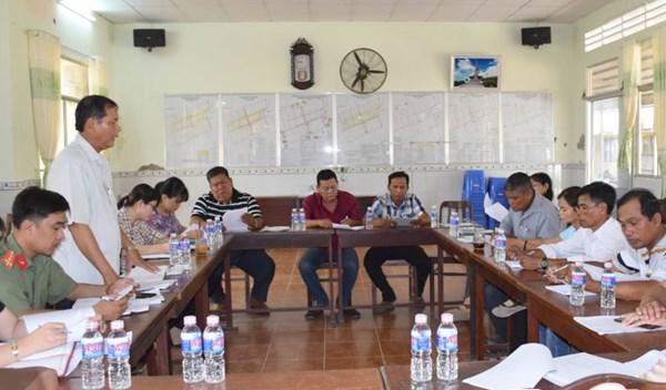 Mặt trận Tổ quốc tỉnh Bạc Liêu: Tích cực giám sát việc hỗ trợ người dân