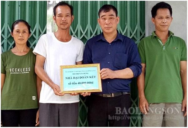 Mặt trận Tổ quốc huyện Bình Gia (Lạng Sơn): Chăm lo, giúp đỡ người nghèo