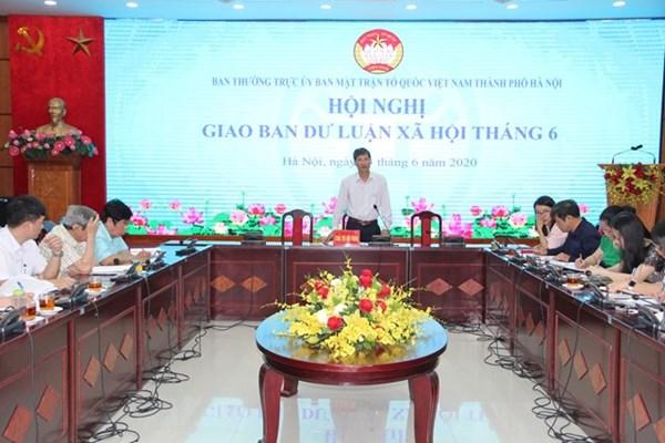Lấy ý kiến Dự thảo Văn kiện Đại hội XVII Đảng bộ thành phố Hà Nội