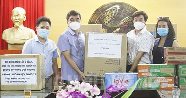 Ủy ban MTTQ tỉnh Hải Dương trao vật tư y tế, hàng hỗ trợ tới các đơn vị chống dịch Covid-19