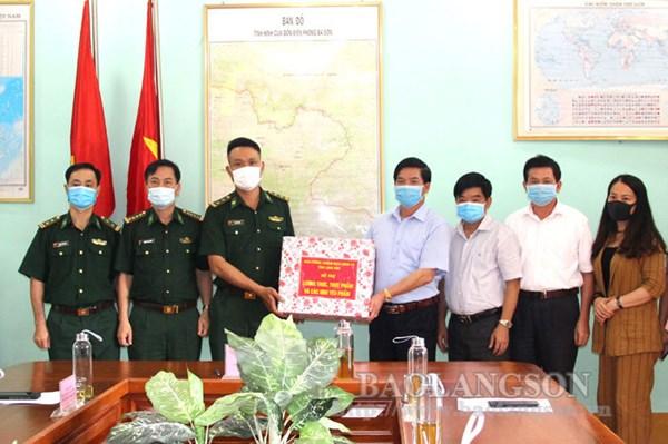 Ủy ban Mặt trận Tổ quốc tỉnh Lạng Sơn thăm, tặng quà Đồn Biên phòng Ba Sơn