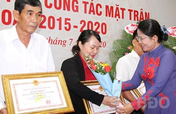 Ủy ban MTTQ Việt Nam tỉnh Bình Định: Tập hợp, phát huy sức mạnh nhân dân