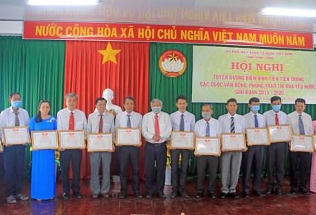 MTTQ tỉnh Vĩnh Long:Tạo sức lan tỏa các phong trào thi đua yêu nước