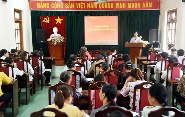 Ủy ban MTTQ Việt Nam tỉnh Bắc Kạn tuyên truyền bảo vệ môi trường
