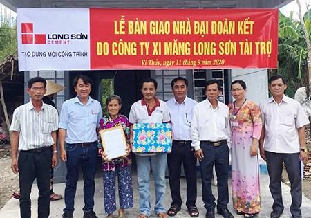 MTTQ huyện Vị Thủy (Hậu Giang): Vận động xây dựng 27 nhà đại đoàn kết cho hộ nghèo