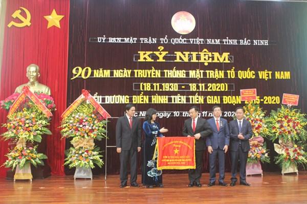Bắc Ninh Kỷ niệm 90 năm Ngày truyền thống MTTQ Việt Nam