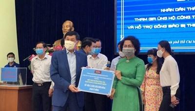 TP Hồ Chí Minh: Tiếp nhận hỗ trợ phòng, chống dịch Covid-19
