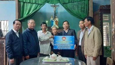 Thừa Thiên – Huế: Hỗ trợ nhà Đại đoàn kết cho gia đình giáo dân