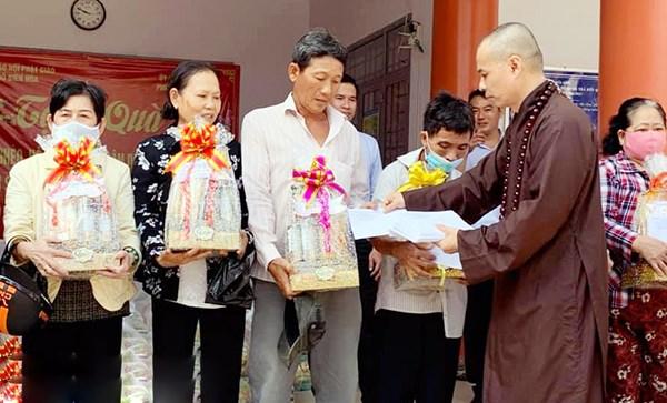 Đồng Nai: Phật giáo chung tay chăm lo cho người nghèo dịp tết
