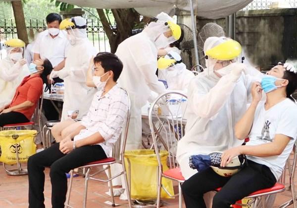Người dân Bắc Ninh tin tưởng vào công tác phòng, chống dịch COVID-19