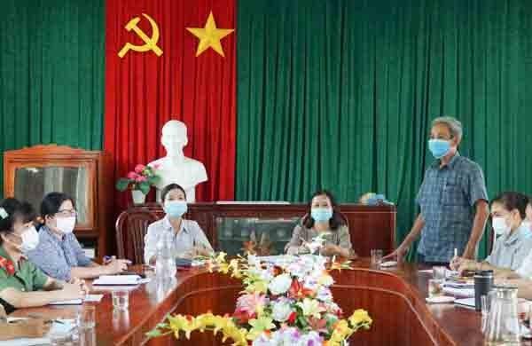 Ủy ban MTTQ Việt Nam huyện Ninh Sơn phối hợp xây dựng chính quyền trong sạch, vững mạnh